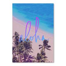 Aloha Hawaii Printed Wall Art