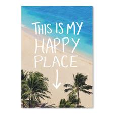 Happy Place Hawaii Printed Wall Art