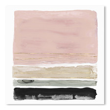 Rothkos Stripes II Printed Wall Art