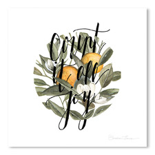 Count It All Joy Printed Wall Art