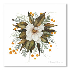 Magnolia Bouquet Printed Wall Art