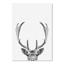 Deer Printed Wall Art