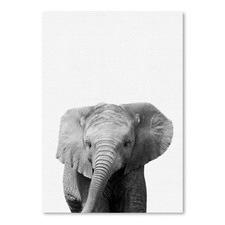 Elephant Printed Wall Art