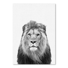 Lion Printed Wall Art