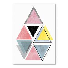 Triangle Printed Wall Art