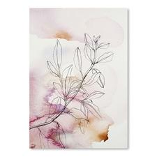 Whisper Petals III Printed Wall Art