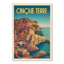 Cinque Terre Italy Printed Wall Art
