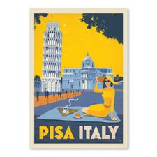 Pisa Italy Printed Wall Art