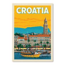 Croatia Printed Wall Art