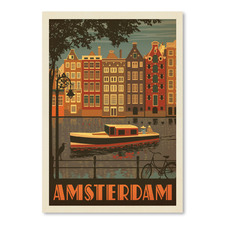 Amsterdam Netherlands Printed Wall Art