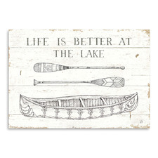 Lake Sketches II Printed Wall Art
