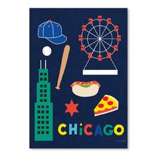City Fun Chicago Printed Wall Art