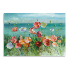 Coastal Poppies Printed Wall Art