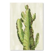 Front Yard Cactus II Printed Wall Art