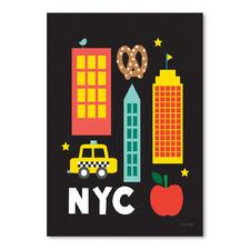 City Fun NYC Printed Wall Art
