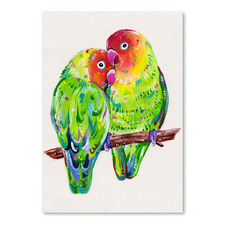 Lovebirds Printed Wall Art