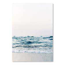 Ocean Wave Printed Wall Art