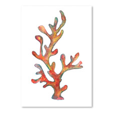 Coral I Printed Wall Art