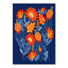 Midnight Garden Printed Wall Art