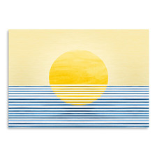 Sunrise Abstract Printed Wall Art