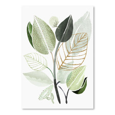 Forest Bouquet Printed Wall Art