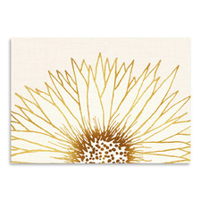 Simple Sunflower Printed Wall Art