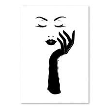 Lady Printed Wall Art