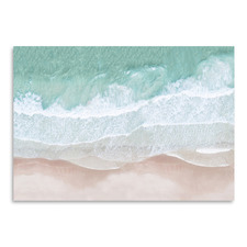 Aerial Ocean Printed Wall Art