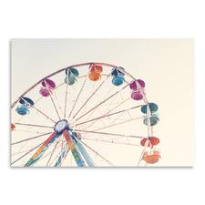 Ferries Wheel Printed Wall Art