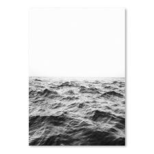 Horizon Black & White Printed Wall Art