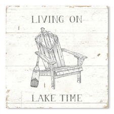 Lake Sketches IV Printed Wall Art