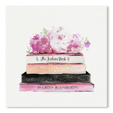 Fashion Books Printed Wall Art
