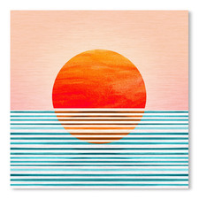 Minimal Sunrise I Printed Wall Art