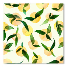 Wild Lemons Printed Wall Art