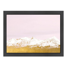 Gold Mountains Printed Wall Art