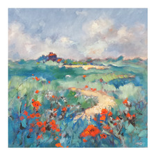 Poppies In Norfolk Printed Wall Art
