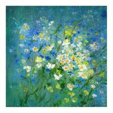 Daisies & Cornflowers Printed Wall Art