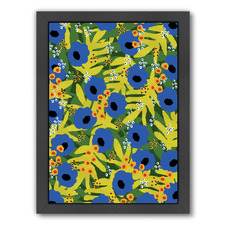 Tropical Floral Printed Wall Art