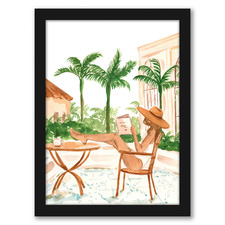 Vacation Mode II Printed Wall Art