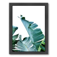 Green Palm Leaf Printed Wall Art