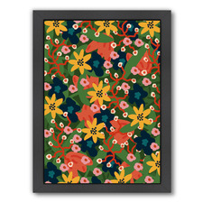 Jungle Floral Printed Wall Art