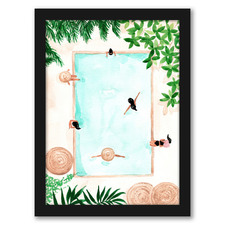 Pool Day Printed Wall Art