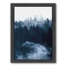 Misty Woodland Printed Wall Art