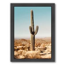 Desert Cactus Printed Wall Art