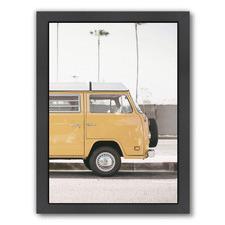 Modern Yellow Van Printed Wall Art