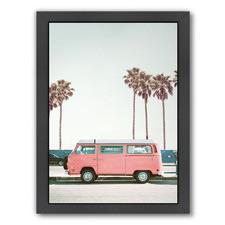 Retro Combi Van Printed Wall Art