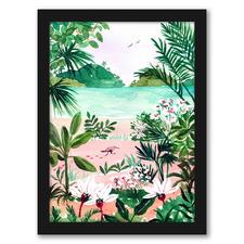 Seaside Meadow Printed Wall Art