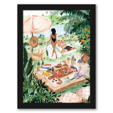 Picnic In The South Of France Printed Wall Art