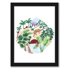 Flora Fauna Printed Wall Art