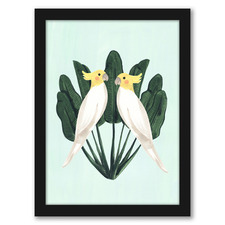 Cockatiels Printed Wall Art